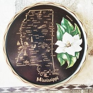 1950s Mississippi serving tray